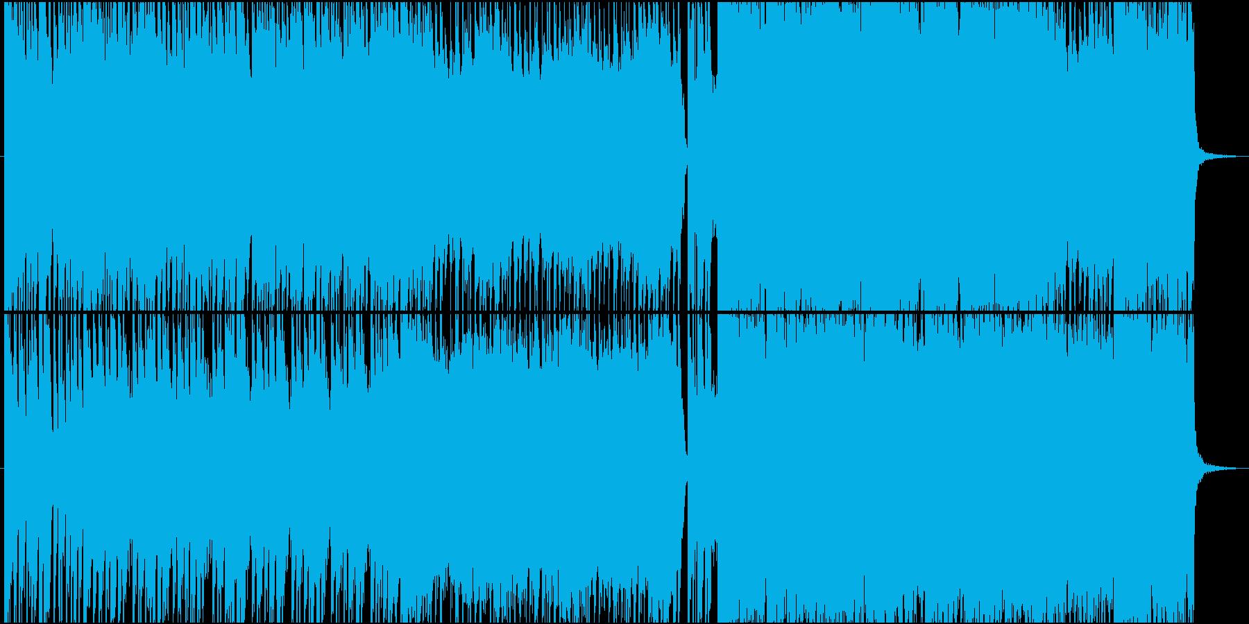 アニソンED風バイオリンテクノバラード♪の再生済みの波形