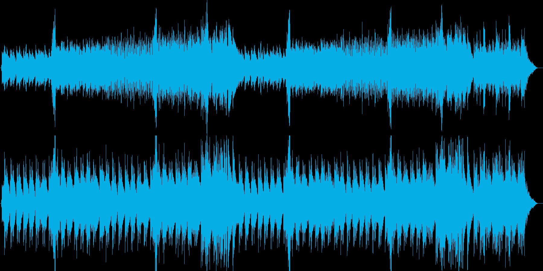 ノスタルジックな和風ポップスの再生済みの波形