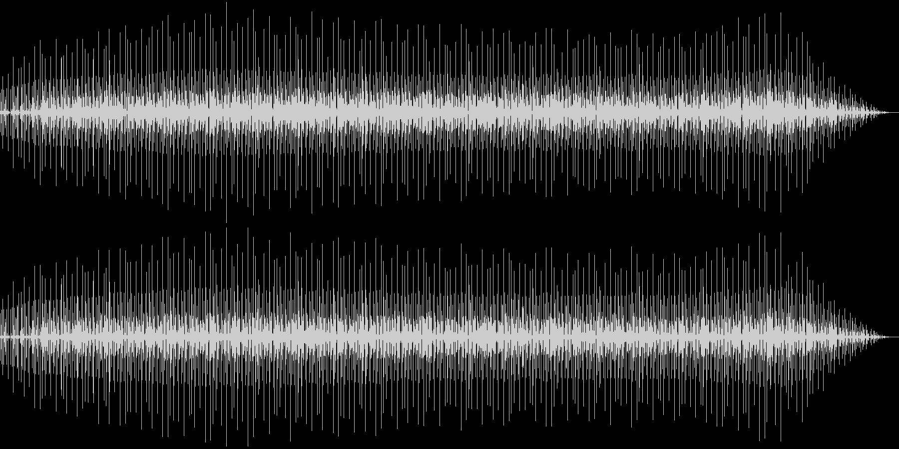 ゆったりとしたテンポのR&B調の曲の未再生の波形