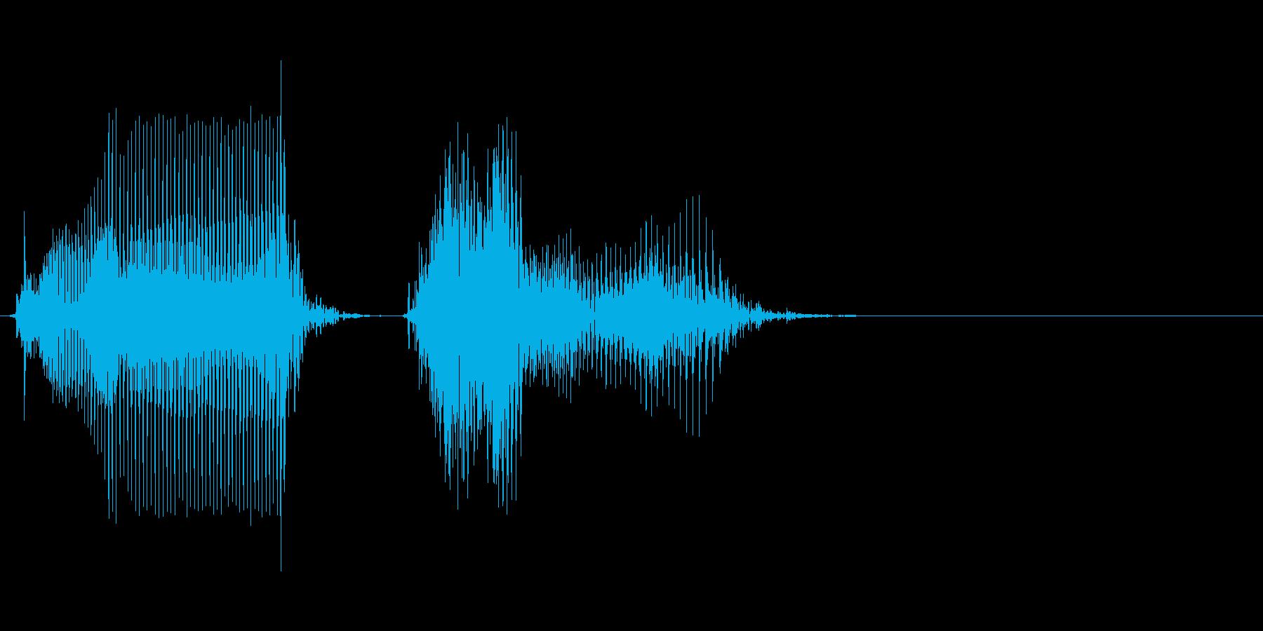 けちーの再生済みの波形