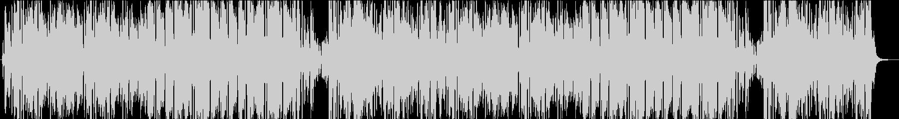 中世ヨーロッパの陽気な曲の未再生の波形