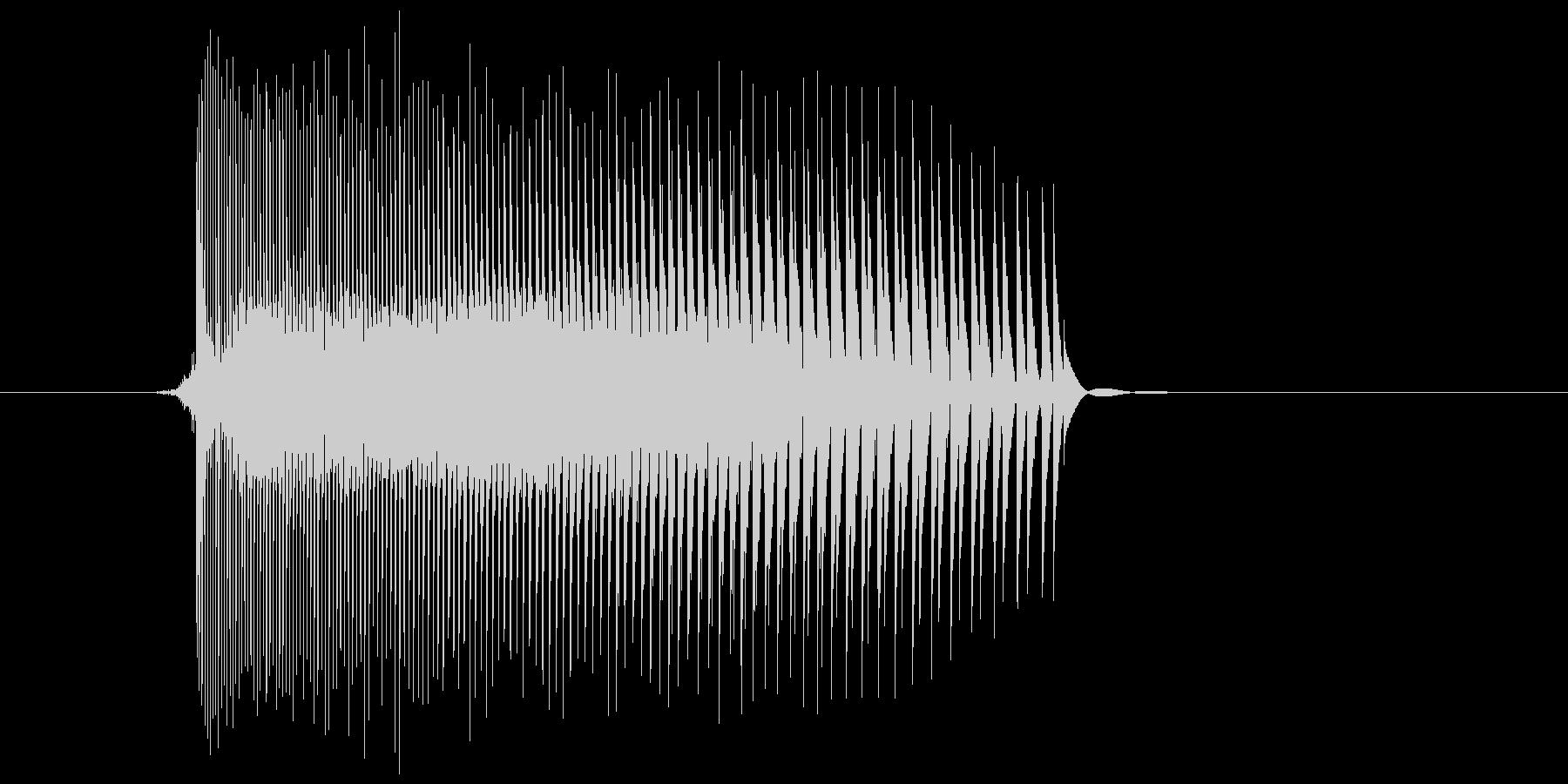 ゲーム(ファミコン風)レーザー音_006の未再生の波形