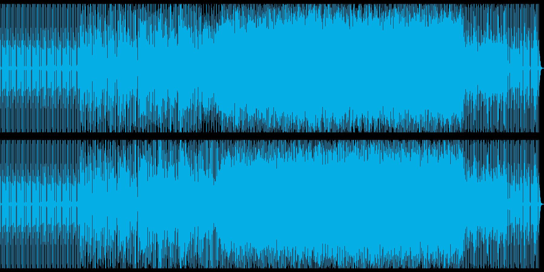 淡々としたビートに絡みつくようなシンセの再生済みの波形