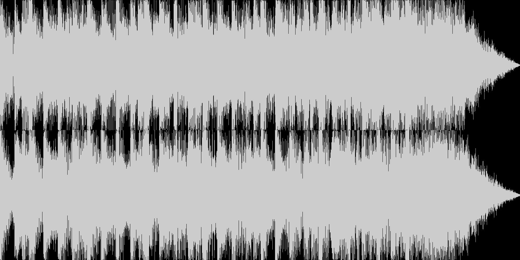 壮大な感じのジングルの未再生の波形