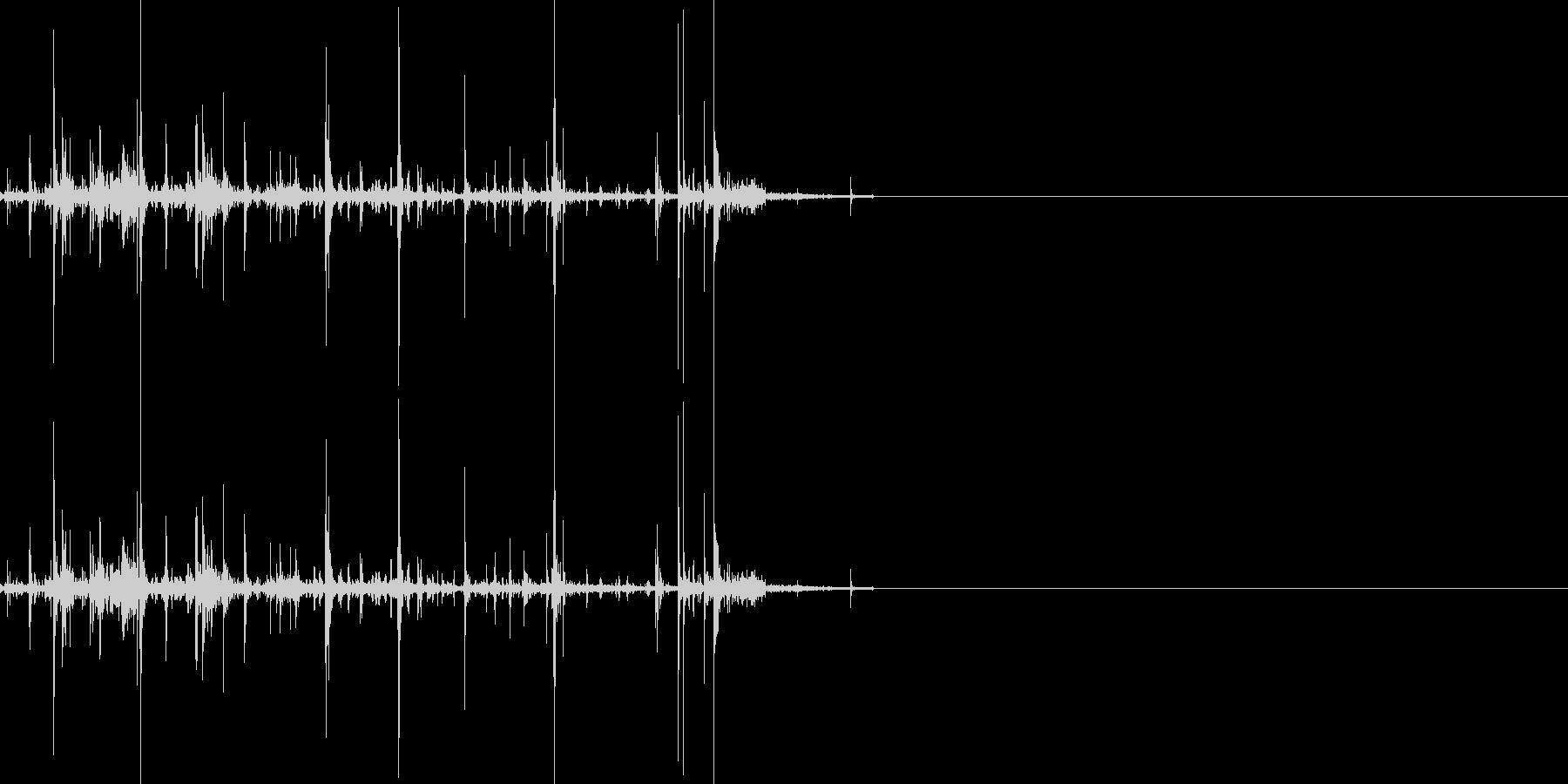 折れる音01の未再生の波形