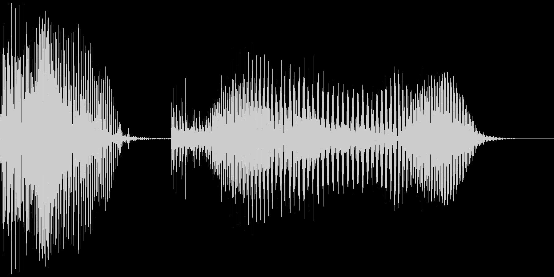 アメリカ人女声 OK!(オーケー!) の未再生の波形