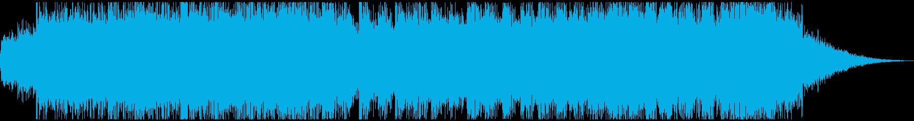 オーケストラの勝利ジングルの再生済みの波形