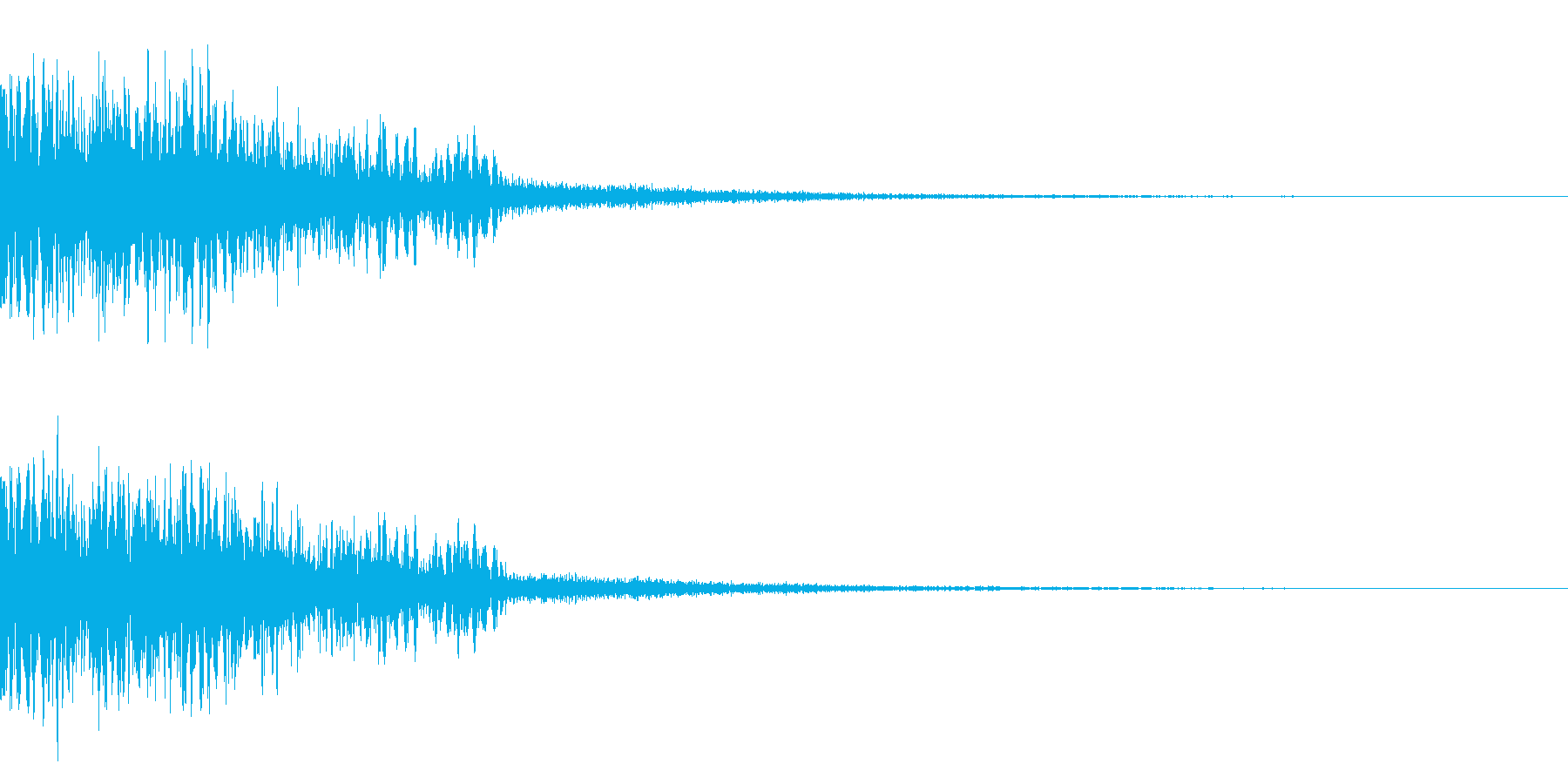 バシュン(出現/敵/戦闘開始)の再生済みの波形
