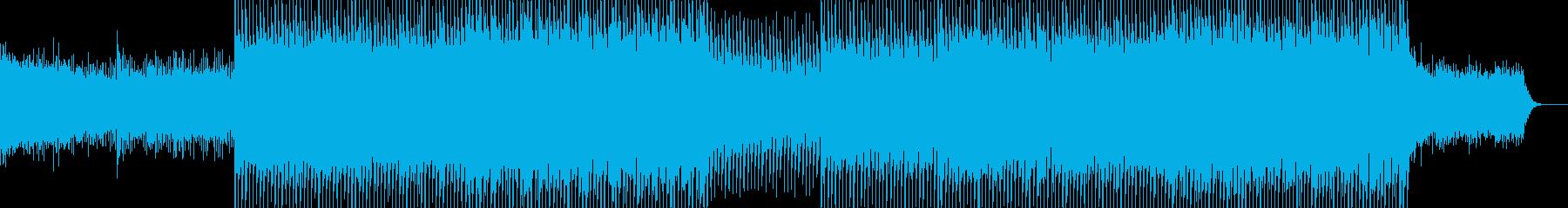 EDMポップで明るいクラブ系-34の再生済みの波形