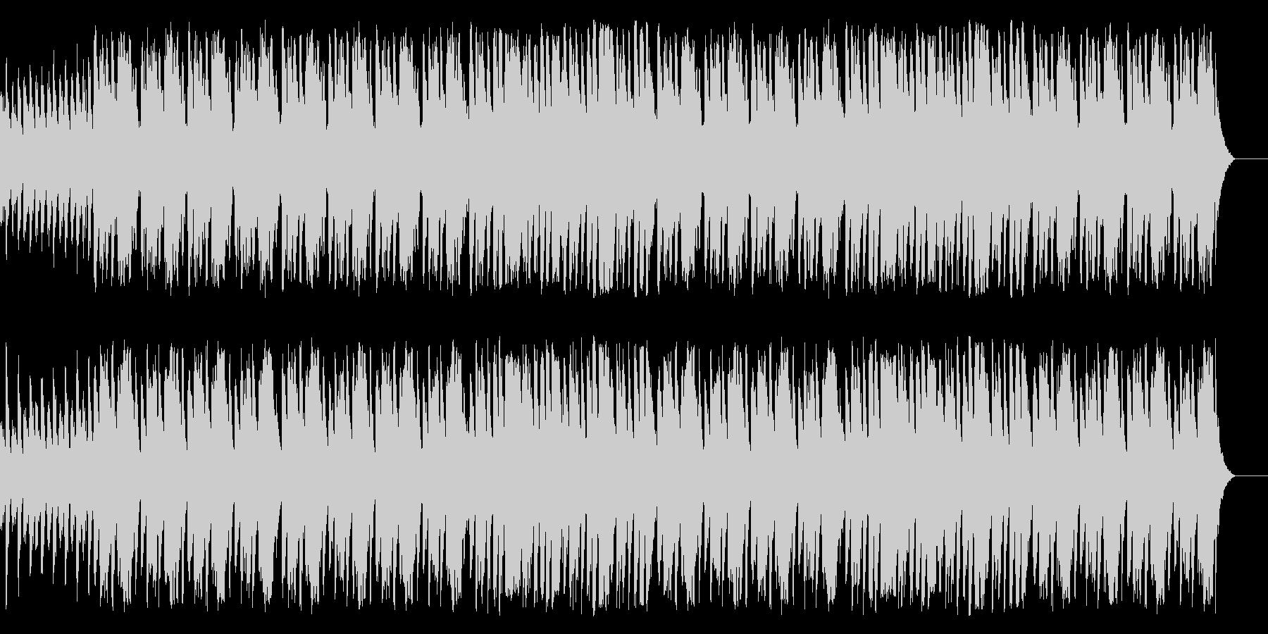 ほんわかした雰囲気の合奏曲の未再生の波形