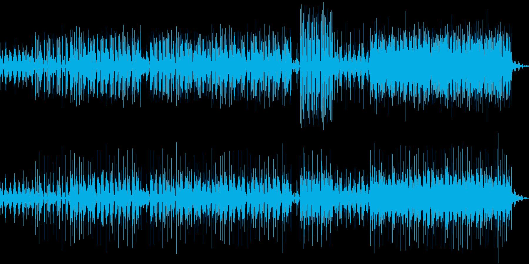 ダウンテンポのとリップホップですの再生済みの波形