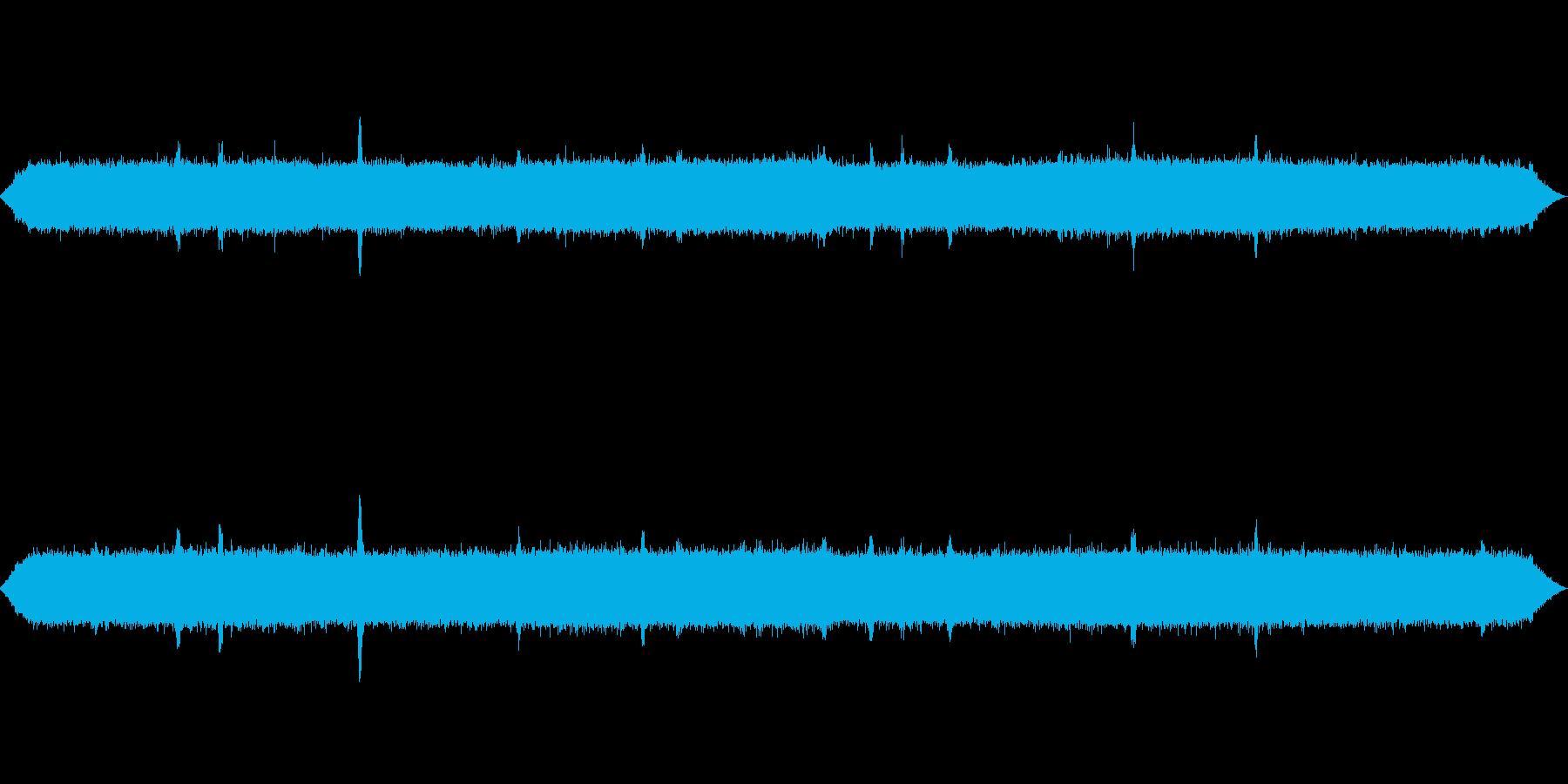 【自然音】秋の虫01(小菅村)の再生済みの波形