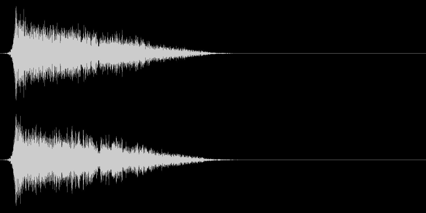 コミカルなダッシュ!ジャンプの効果音5cの未再生の波形