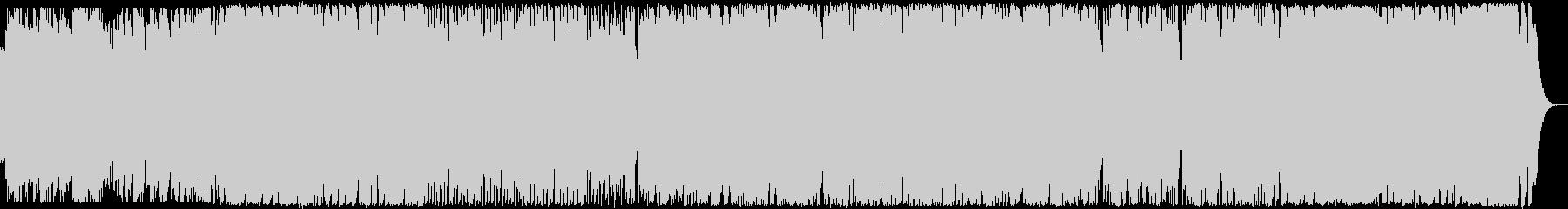 ミステリアスでポップなハロウィン曲の未再生の波形