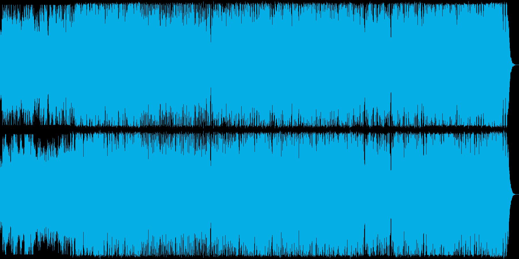 ミステリアスでポップなハロウィン曲の再生済みの波形