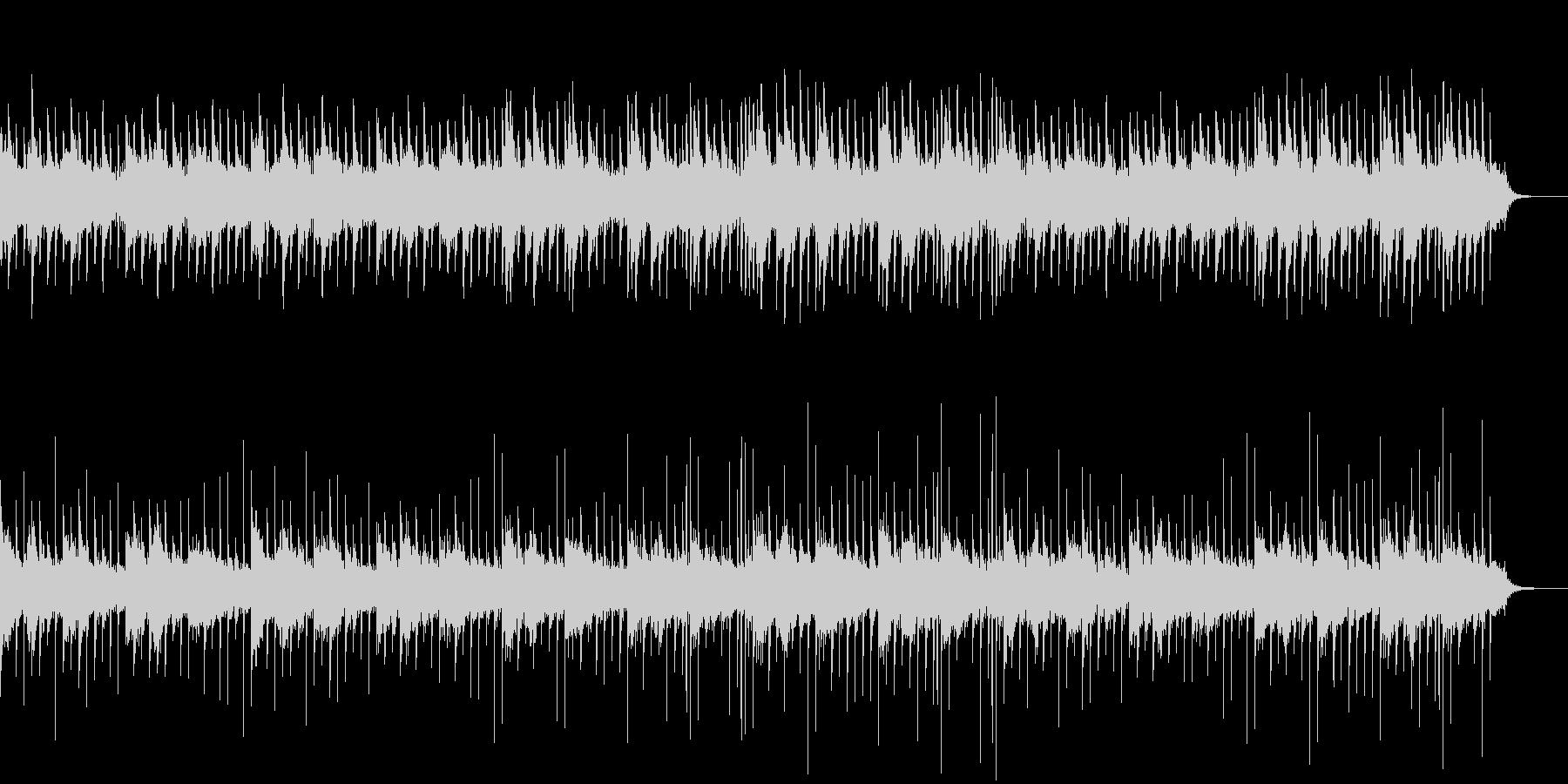 ホラーなピアノBGM01の未再生の波形