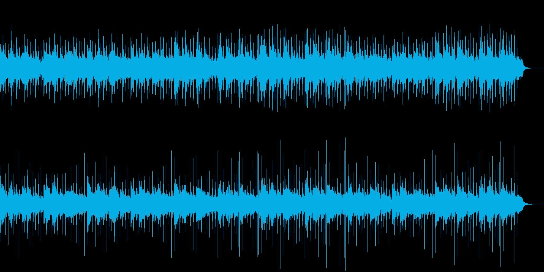 ホラーなピアノBGM01の再生済みの波形