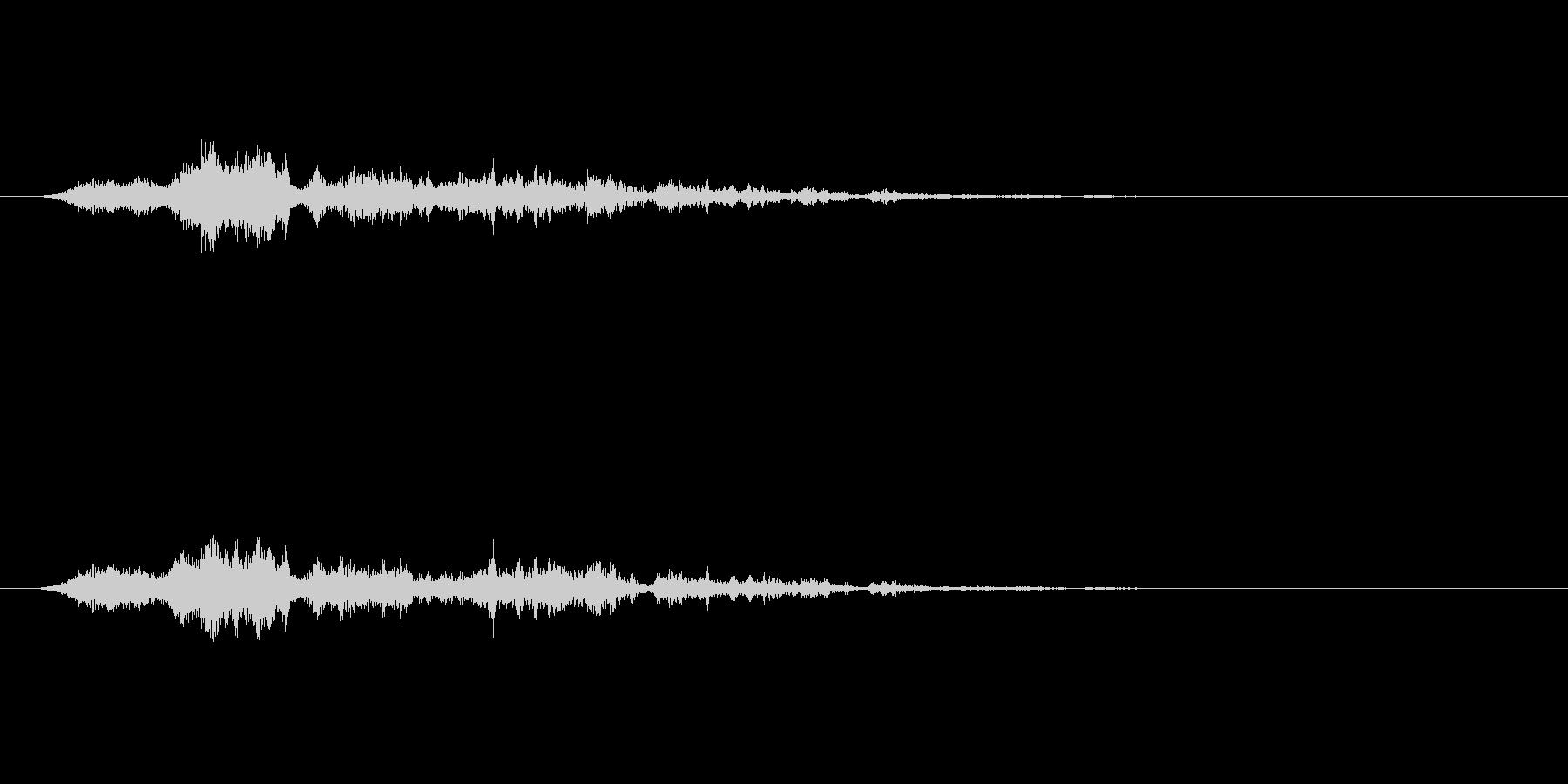 【SE 効果音】風(ホラー)3の未再生の波形