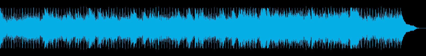 ギターとピアノのウエストコーストロックの再生済みの波形