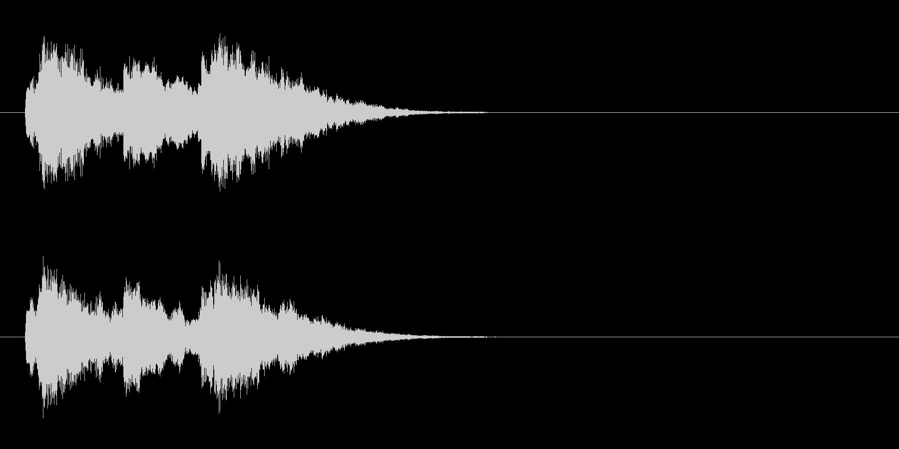 ジングル/環境(サウンド・ロゴ風)の未再生の波形