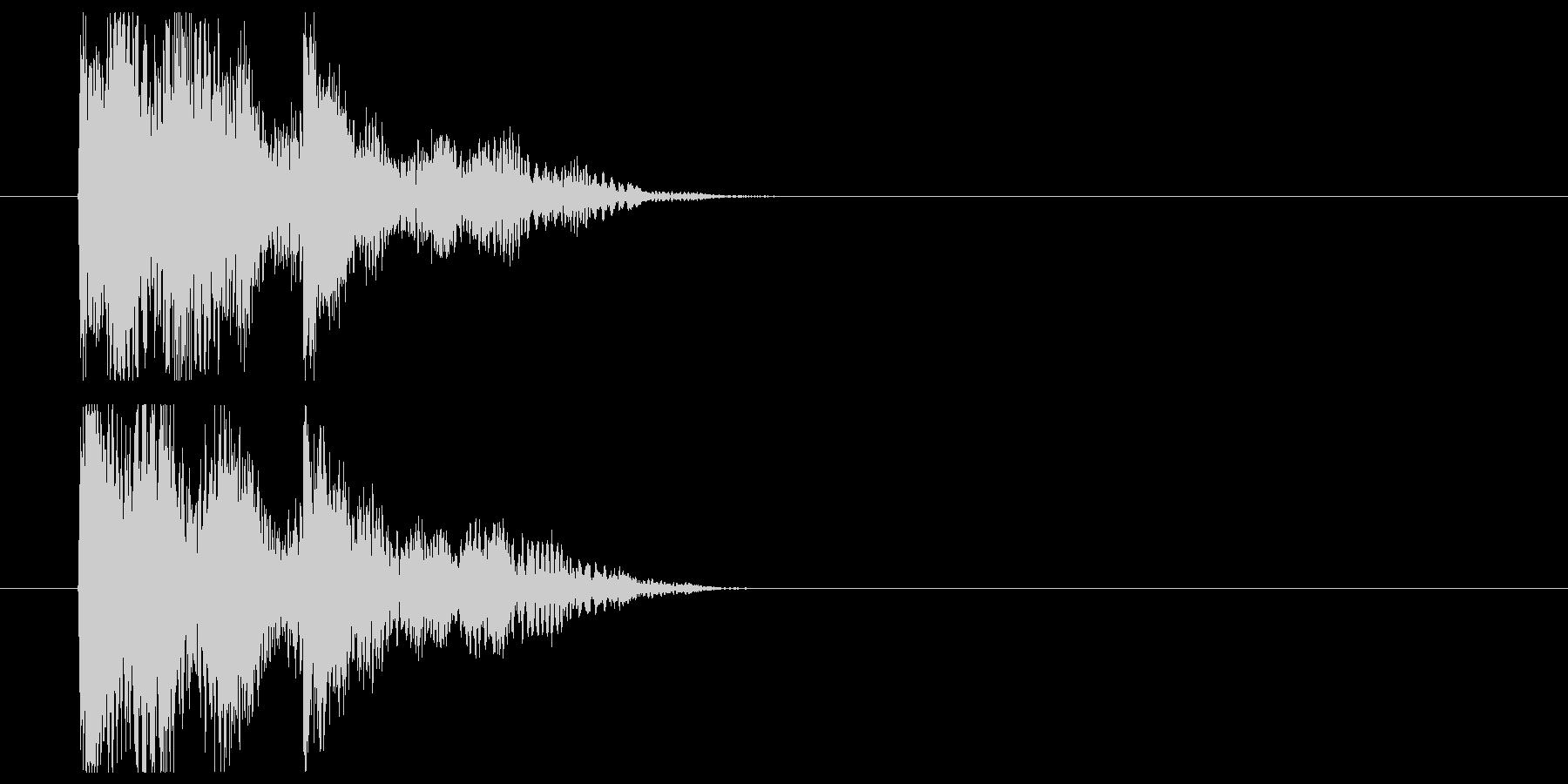 アイテム表示や凡庸な結果時の未再生の波形