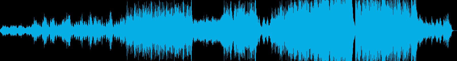 アンビエントで幻想的なエレクトロの再生済みの波形