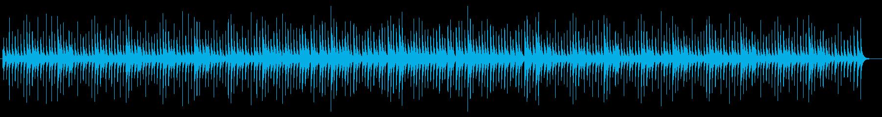 切ないオルゴールサウンドの再生済みの波形