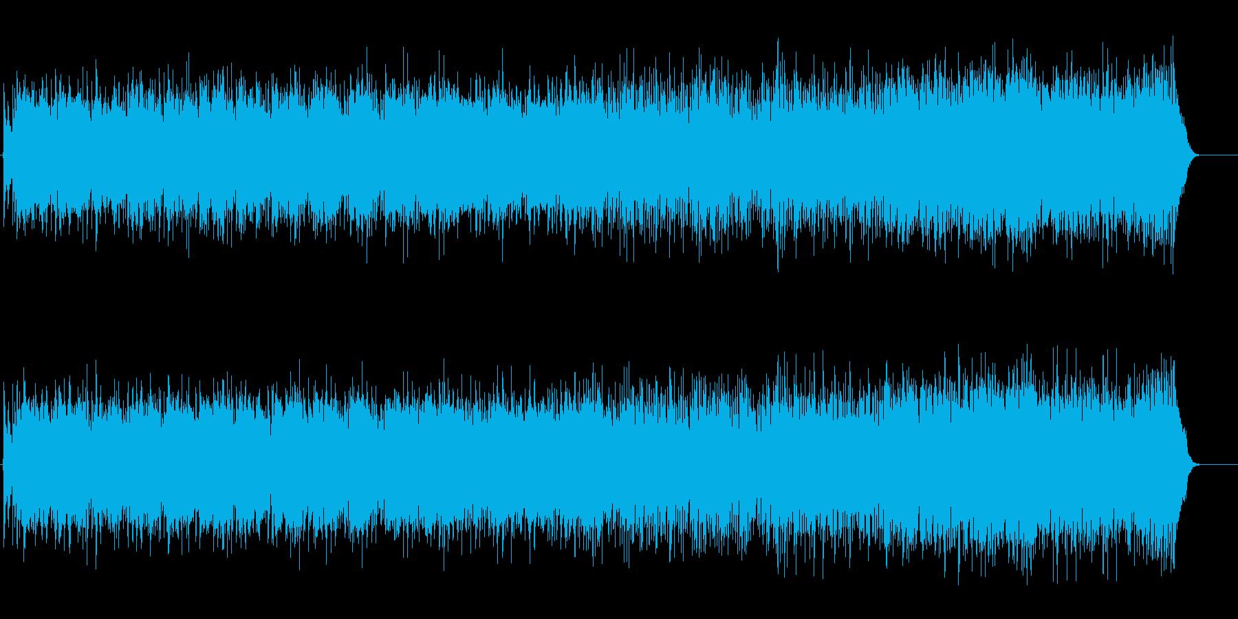アイダホの大地風のカントリーミュージックの再生済みの波形