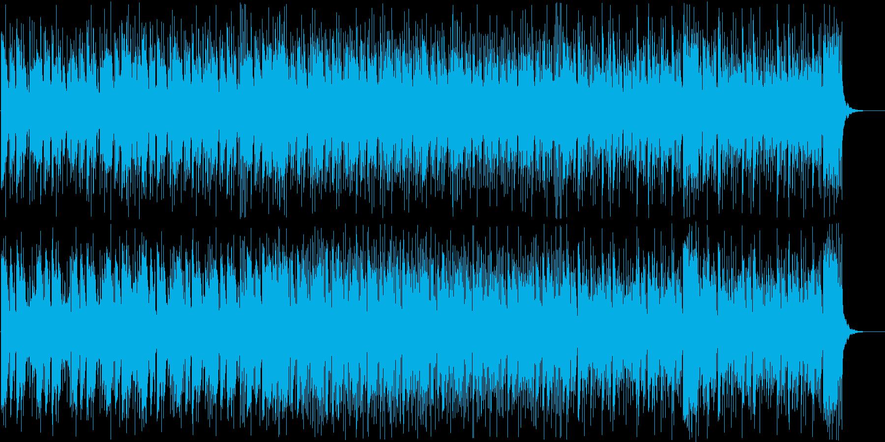 ギターのカッティングが心地よい、グルー…の再生済みの波形