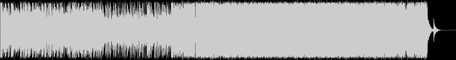 爽やかなエレクトロポップスの未再生の波形