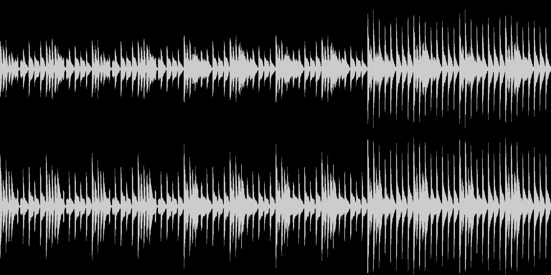これがいいみたいな曲(ループ仕様)の未再生の波形