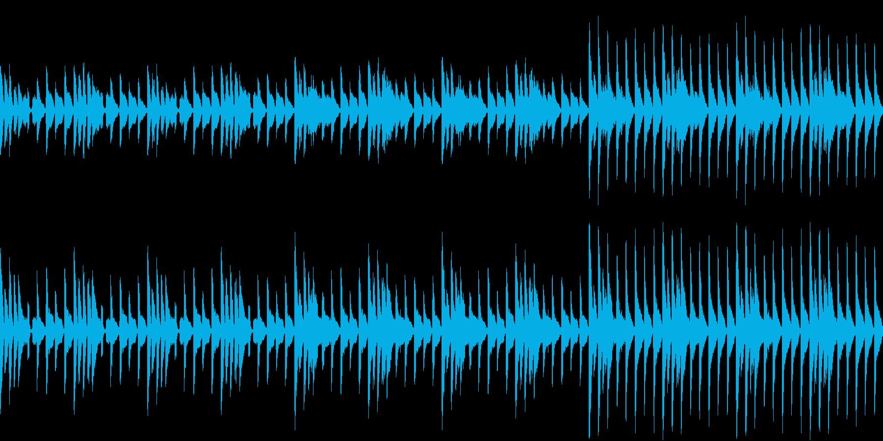これがいいみたいな曲(ループ仕様)の再生済みの波形