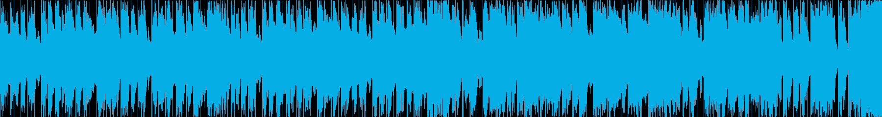 元気で可愛らしいポップス<ループ仕様>の再生済みの波形