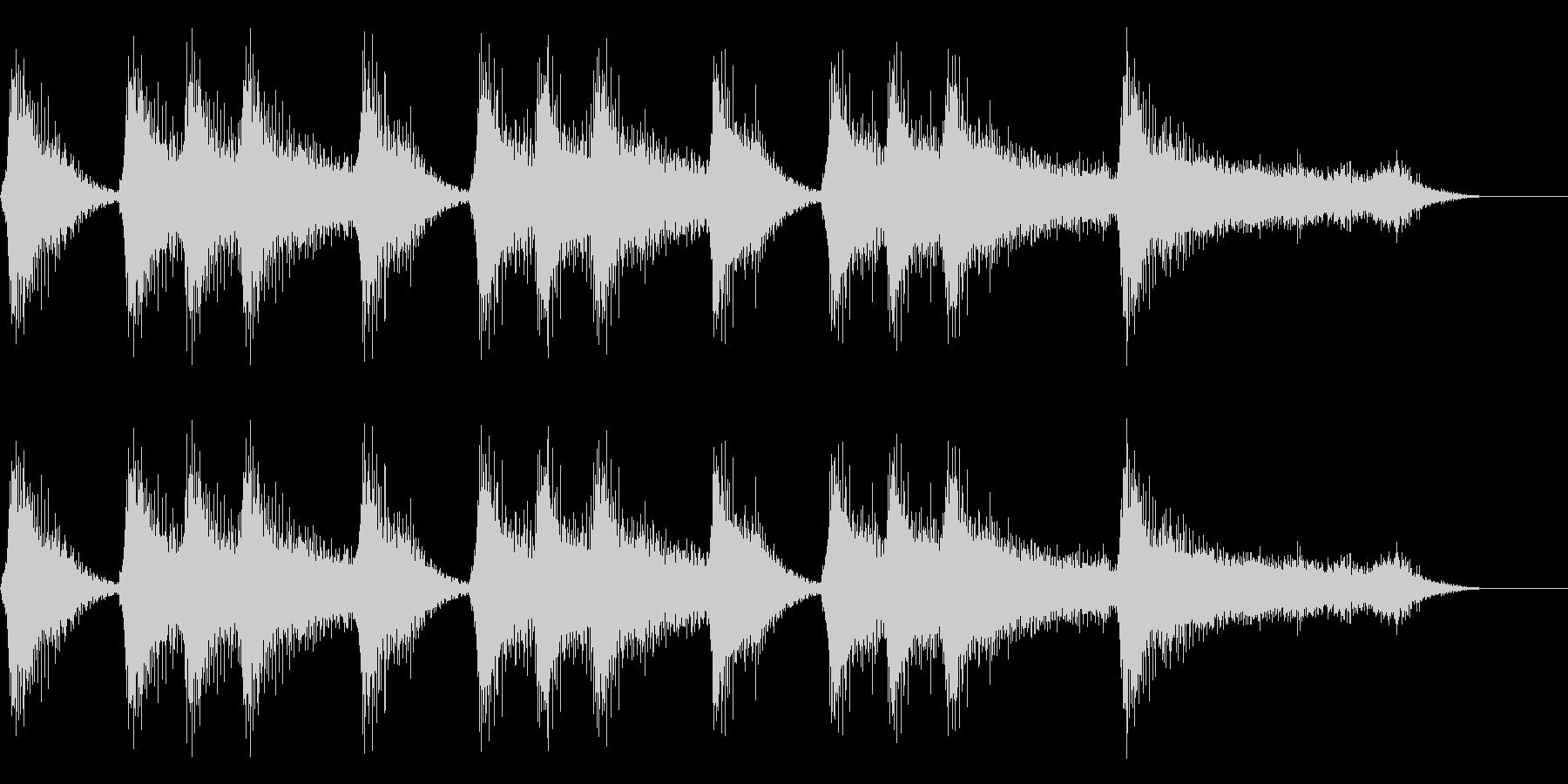 ゲームクリア ステージクリア 8bitの未再生の波形