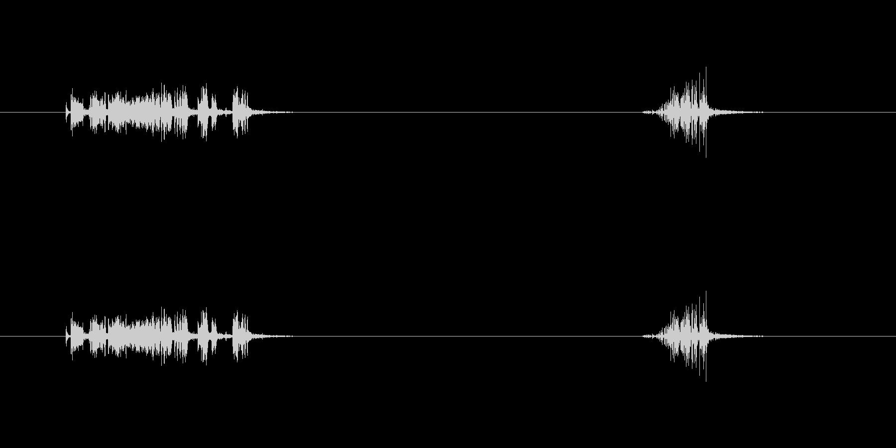 【ガムテープ01-2(引く・切る)】の未再生の波形