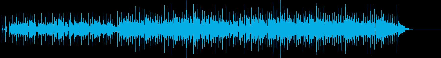 機械的でクールなBGMの再生済みの波形
