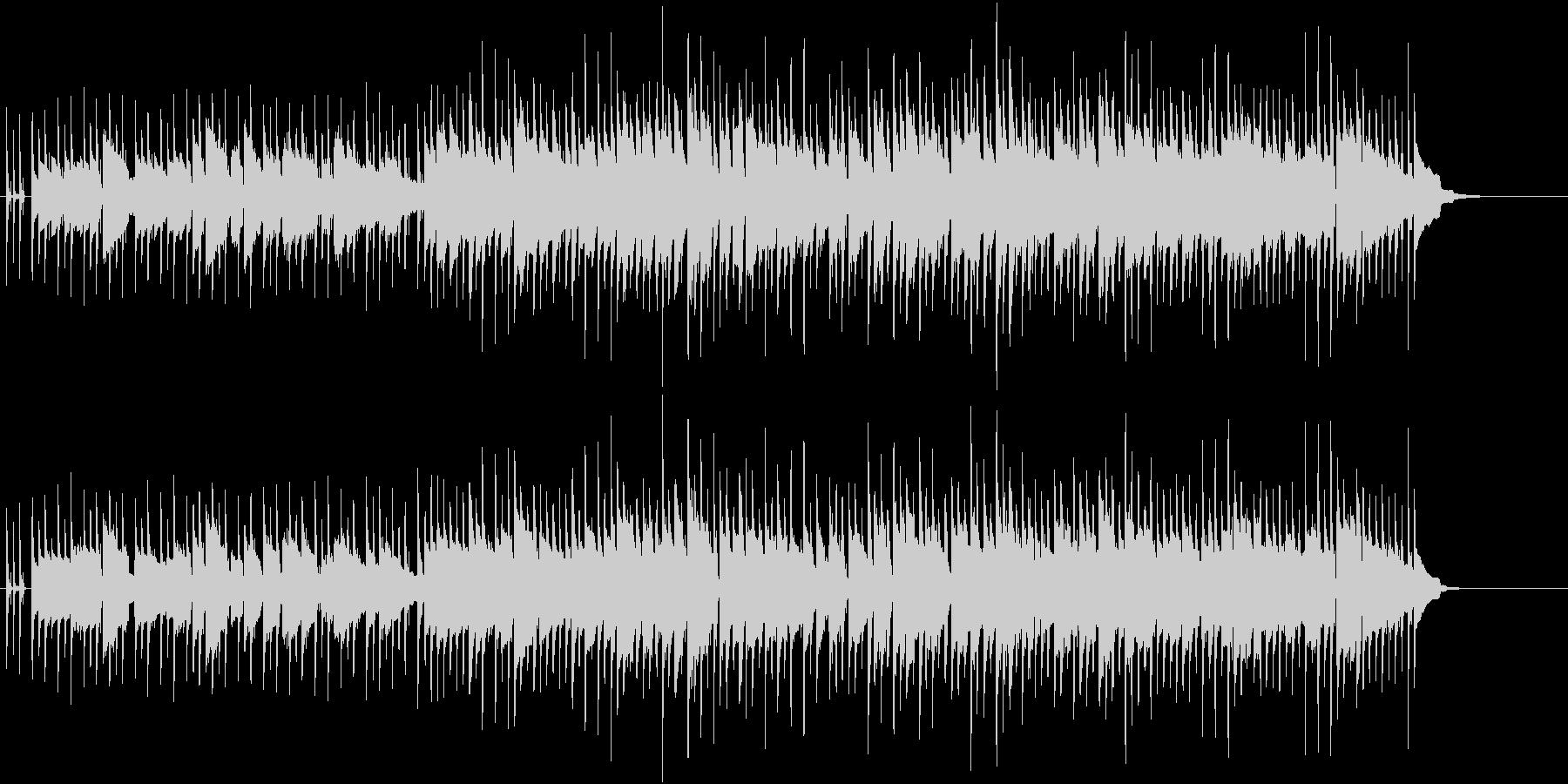 機械的でクールなBGMの未再生の波形