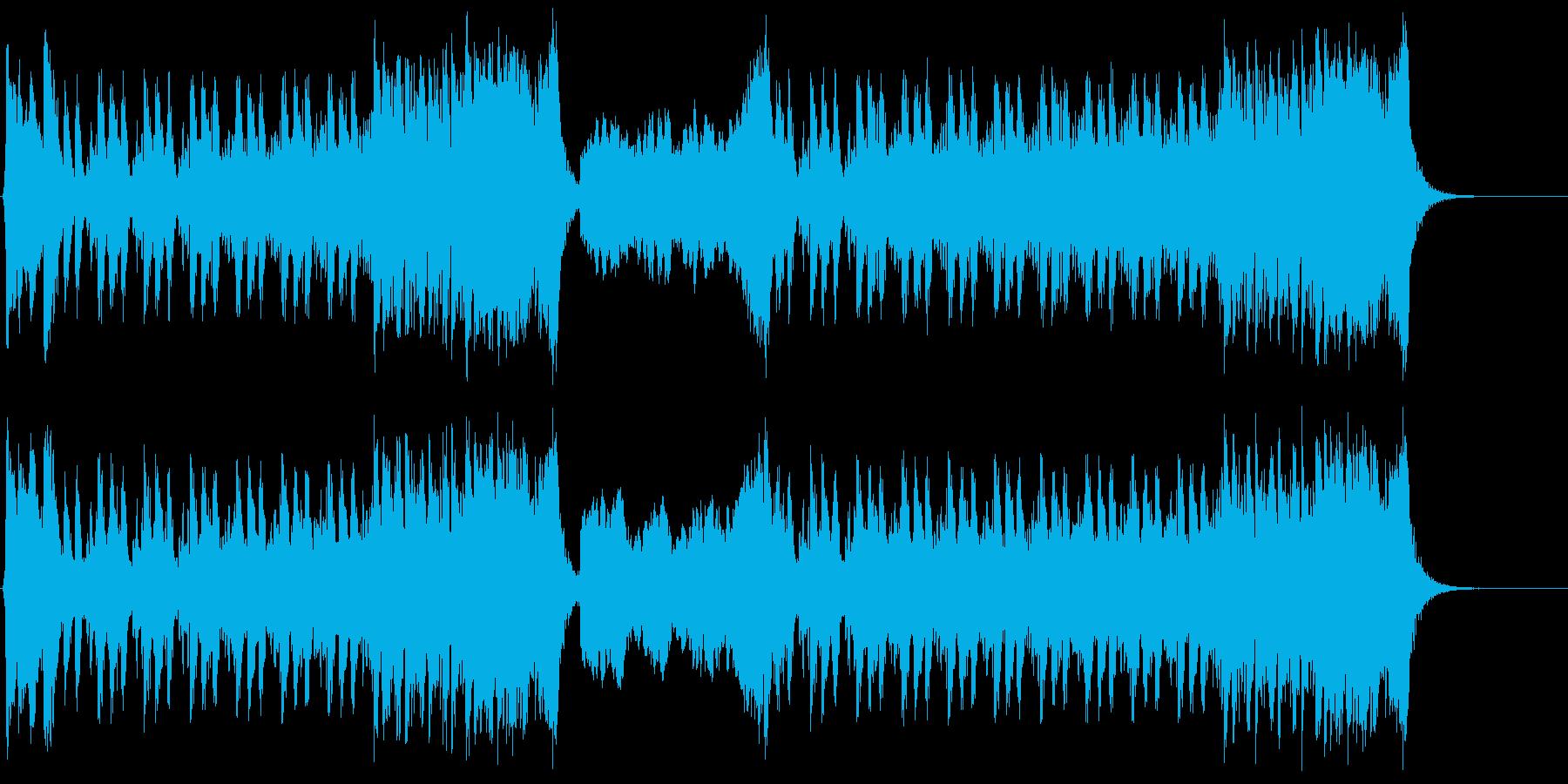 スリル満点のハリウッド系オーケストラの再生済みの波形