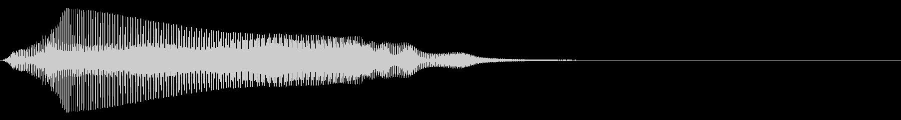猫の鳴き声 1B にゃ~おの未再生の波形
