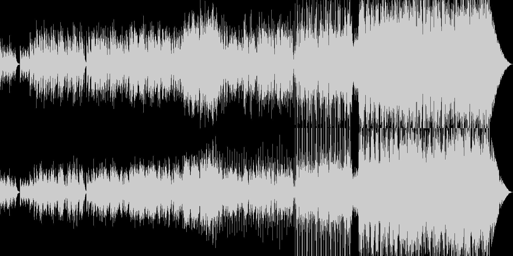静かな夜 スパニッシュギターの調べに-の未再生の波形