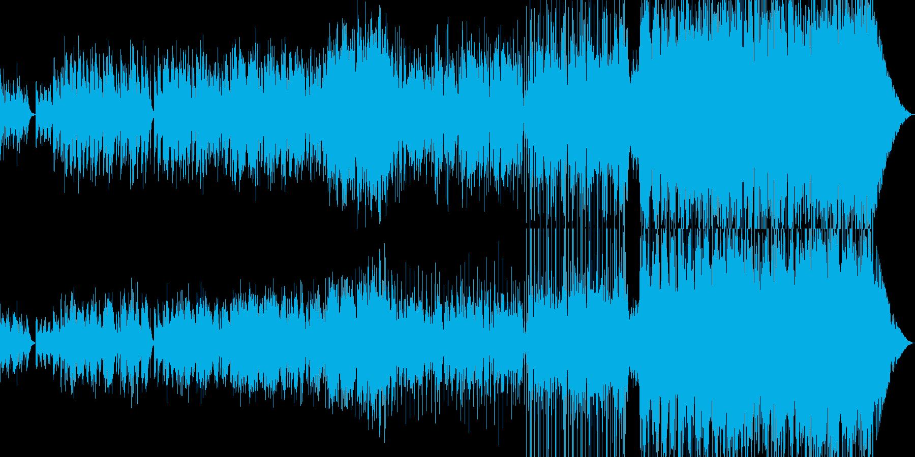 静かな夜 スパニッシュギターの調べに-の再生済みの波形