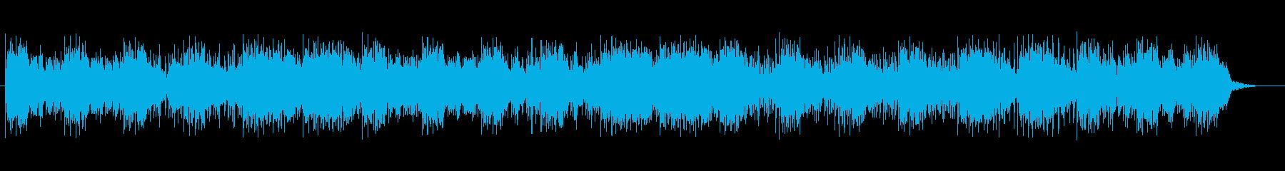 不思議な雰囲気のシンセポップスの再生済みの波形