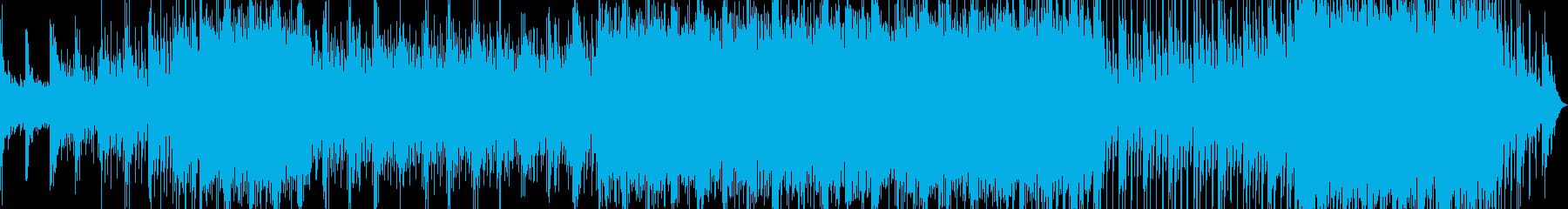 映像水透明テクノBGMキラpop企業VPの再生済みの波形