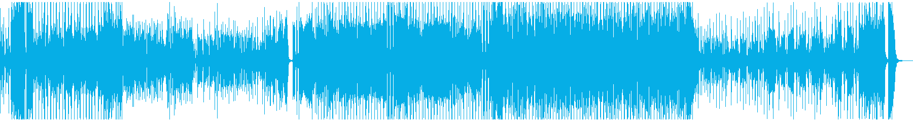 明るくてジャジーなカーテンコール曲の再生済みの波形