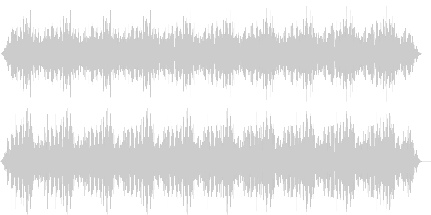 ドドドドの未再生の波形