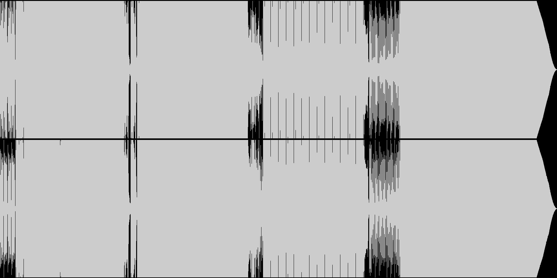 ディスコ風05_temp125の未再生の波形
