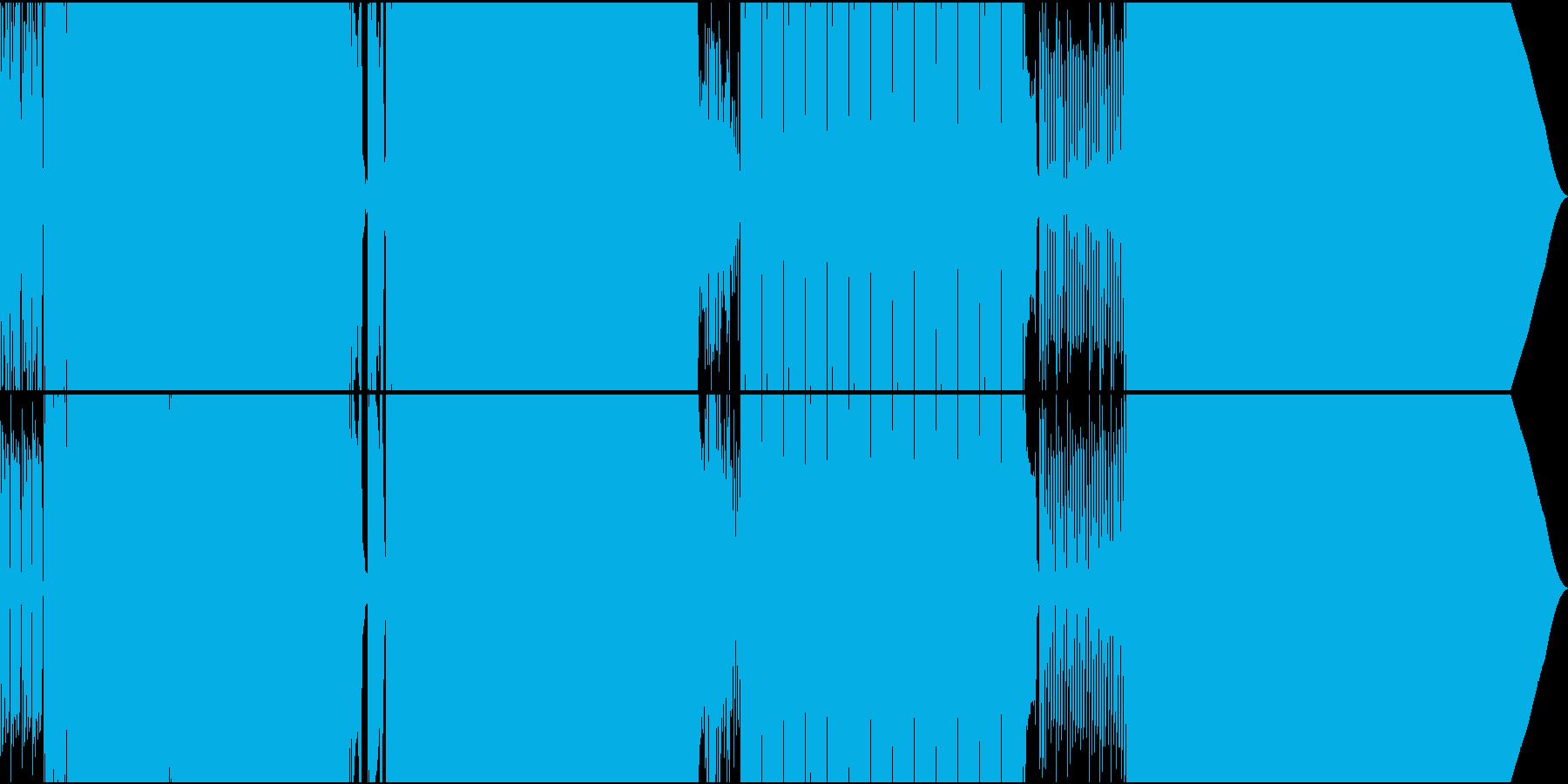 ディスコ風05_temp125の再生済みの波形