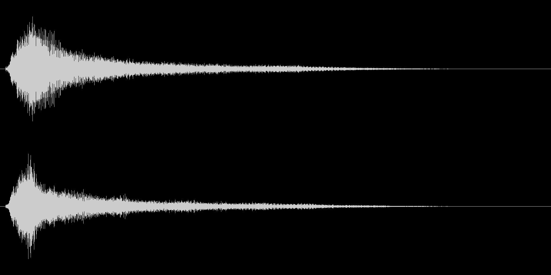 サスペンスに最適!ピアノの弦を弄ぶ音31の未再生の波形