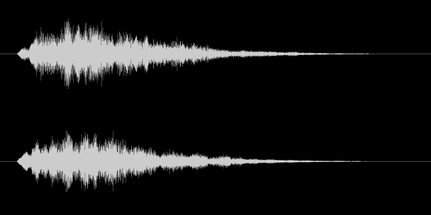 スタート・決定音・アイテムゲットなどにの未再生の波形