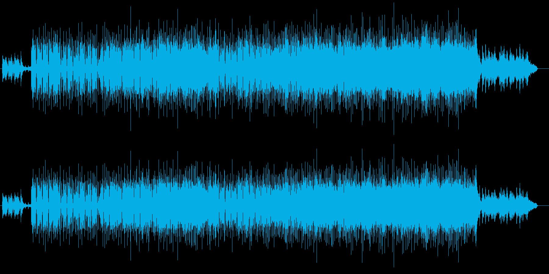 ピアノがおしゃれなマイナー・フュージョンの再生済みの波形